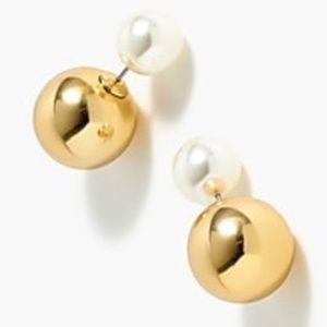 J Crew Reversible Stud Earrings